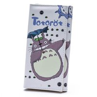 Wholesale Totoro Card - Women Wallets PU Leather Lady Handbags Cartoon Totoro Students Wallet Cards Holder Woman Clutch Hasp Coin Purse Girls Money Bags