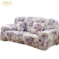 Wholesale Korean Style Sofas - Free shipping elastic sofa cover universal slipcover polyester spandex One Two Three Four Seater Couch Cover drop shipping