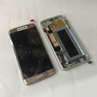 Wholesale Galaxy Screen Assembly - G935 New Original Test LCD Touch Screen Digitizer With Frame Assembly For Samsung Galaxy S7 edge G935A G935F