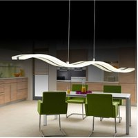 Wholesale TOP W dimmable LED modern pendant light Creative novelty home indoor Pendant Light Lamp for Dining room living room AC90 V