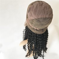 Wholesale Cheap Curling Full Lace Wigs - Curly virgin hair full lace human hair wig for black women wholesale factory cheap price thick curl human hair wigs