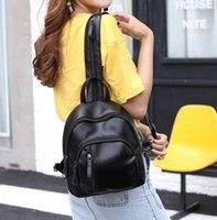 6ead7e84b3fb 2017 summer new PU shoulder bag ladies Korean version of the trendy fashion  simple mini small backpack tide bnbj