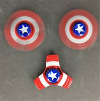 DHL Free Newest Spider Man Hulk Captain America Iron Man Hand Spinner Цинковый сплав Spinner Fidget Toy EDC Аутизм ADHD Finger Gyro Toy