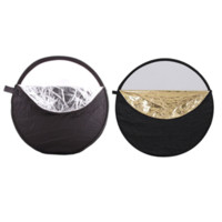 Wholesale Disc Carrying Case - Portable Collapsible Round 60cm Camera Lighting equipment Photo Disc Reflector Diffuser Kit Carrying Case Photography Equipment