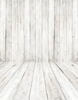 Wholesale baby portrait photography for sale - White Wooden Planks Wall Floor Photography Backdrops Children Kids Studio Portrait Wallpaper Photo Booth Backgrounds for Baby Newborn