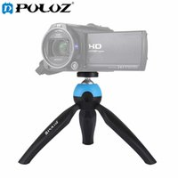 Wholesale Pocket Tripod - PULUZ Portable Pocket Mini Tripod Mount with 360 Degree Rotation Panoramic Tripod for Sports camera Smartphones DSLR DV Video camera