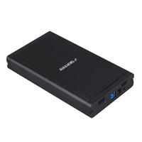 caso hdd de 3,5 polegadas venda por atacado-Venda por atacado - Mais novo USB de alumínio 3.0 de 3,5 polegadas SATA HDD Hard Drive Gabinete externo Box HOT