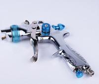 freie luftgewehre großhandel-HVLP manuelle Malerei Spritzpistole mit plastic up Tasse für Autoreparatur und Oberflächenbehandlung Hochdruck airbrush free air Versand