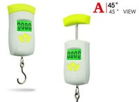 Mini Digital Scale for Fishing Luggage Travel Weighting Steelyard Hanging Electronic Hook Scale 50kg x 0.01kg