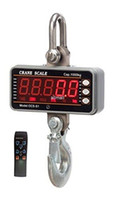 Wholesale Heavy Duty Scales - Freeshipping High precision 1000KG 2000LBS 1T Aluminum Digital Crane Scale heavy Duty Hanging Scale Smart Type LED Display with Remote