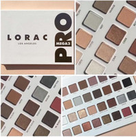 1pz blue eyes eyeshadow - 2017 New Limited Edition Cosmetics Lorac Mega Pro Palette Eyeshadow Colors Palette Shimmer Matte Brands Eye Shadow Palette Makeup