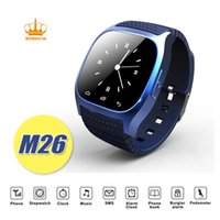 Wholesale Apple Finish - Finish M26 Smartwatch smart device with Dial SMS Remind Pedometer for Android phone NEW M26 Smart Watch wristwatch