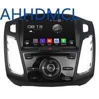 Wholesale Bluetooth Car Audio Ford - Car DVD PC Audio Radio Player Android 5.1.1 GPS SYNC DVR WiFi For Ford Focus 2015 2016 2017