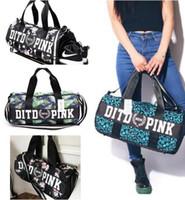 Wholesale Luxury Bag Summer - Bags Luxury Pink Handbags for Women Men Duffel Bag Summer Vs Ladies Women Men Secret Travel Bag Waterproof Victoria Famous Brand Beach Bags