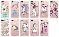 Einhorn Zebra High Heels Schildkröte weichen TPU Fall für Iphone 7 Plus 6 6S SE 5 5S Galaxy S8 Plus s7 Rand Cartoon Cute Silikon Clear Cover Skin