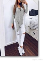 Wholesale Sexy Party Tunic Tops - Long Sleeve Side Split Cross Straps T-shirt Women Irregular Shirt Sexy V Neck Party Tunic Cross Straps Tops ouc301