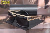 Wholesale Vintage Round Sunglasses Gold - Famous Brand Eyewear Cazals Legends Black Frame Womens Mens Sunglasses Vintage Cazals Gold Metal Frame Polarized Eyewear