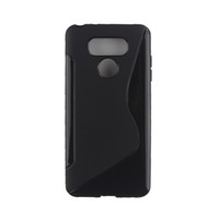 Wholesale Lg G2 S Cover - S Line Phone Cases For LG G6 G5 G4 G3 G2 Silicone Case Soft Matte Back Cover Phone Bag