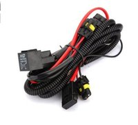 Wholesale H7 Wiring Harness - car THTMH HID Conversion Kit Single Beam 40A Relay Wiring Harness H1 H4 H7 for 35W 55W 75W