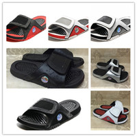 Wholesale Dot Flip Flop - Wholesale 2017 New Hydro XIII Retro 13 slippers Black white sports men basketball shoes casual sneakers high quality shoes size 7-12 40-47