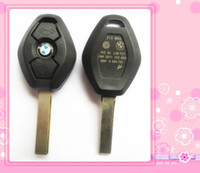 Wholesale Bmw E36 325i - KL56 car key case For BMW Series Z3 Z4 X3 X5 E36 325i 525i 330i 530i 545i With Uncut Blank Blade