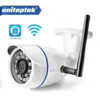беспроводная проводная камера cctv оптовых-HD 720P 960P WIFI IP-камера 1080P Наружная беспроводная камера видеонаблюдения домашняя камера Onvif CCTV камера TF слот для карт App CamHi