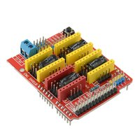 принтер arduino оптовых-ЧПУ Щит V3 Плата Расширения A4988 Шаг Драйвера Драйвер 3D-принтер для Arduino B00176 ПРОСТО
