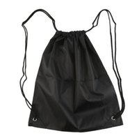 Wholesale Dance Duffle Bags - 39*33.5cm Premium School Drawstring Duffle Bag Sports Gym Swim Dance Shoe Waterproof Backpack Travel String Bag carry handles