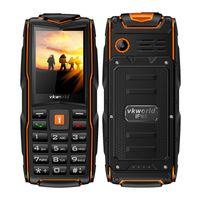 "Wholesale Sim Gsm Power Bank - Vkworld Stone V3 GPS Elder Email IP68 Waterproof Shockproof phone IP68 Flashlight GSM Power Bank 2.4"" 3000mAh 3 SIM mobile phone"