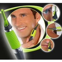 Wholesale Eyebrow Hair Clipper Trimmer - Wholesale- New Multifunction Personal Electric Razor Handsome Men Body Nose Nasal Ears Eyebrow Facial Hair Clipper Trimmer Shaver Man Gift