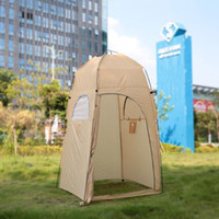 Portátil Outdoor Shower Tent Toalete Tent Banho Mudando Fitting Room Beach Privacidade Shelter Tent Travel Camping Tents