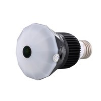 Wholesale Hd Spy Cam Wifi - 32GB Memory Auto Safety Wireless WIFI IP Spy Camera 360VR 1296P HD Light Bulb hidden Camera IR Night Vision Motion Detection Cam PQ249A