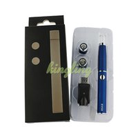 Wholesale Glass Pen Cheap - Wholesale vaporizer wax VAPE pen shatter wax cheap vape pen portable wax concentrate vaporizer DAB pen kit 650mah evod battery dry herb tank