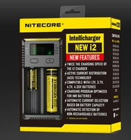 Wholesale 100 Original New Nitecore i2 Intellicharger Universal Battery Charger for AA AAA etc Smart charger