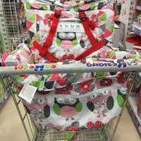 hobos floral 10cm wholesale baby portable shopping cart cushion lovely 2 in 1 baby