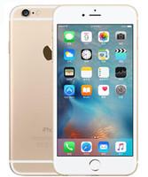 iphone 64gb kilidi toptan satış-Yenilenmiş Orijinal Apple iPhone 6 S Artı Hayır Dokunmatik KIMLIK Orijinal Ekran 5.5 Inç 16 GB / 64 GB / Çift Çekirdekli iOS 11 Unlocked Telefon