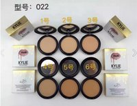 block news - Free DHL Kylie Jenner face power professional make up studio fixed powder base news cosmetics face powder color kelly gold shell powder