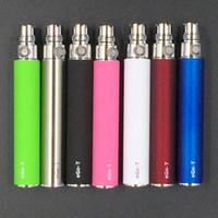 Wholesale Mt3 Black - E Cigarette Ego Battery For 510 Thread Ce4 Ce5 Mt3 Atomizer Vaporizer 650mah Black Ego T Batteries