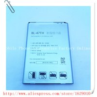 Wholesale Lg Optimus G Pro Wholesale - Wholesale- BL-47TH Replacement Battery Bateria 3200mAh 3.8v For LG Optimus G Pro 2 F350 F350L F350S F350K D837 D838 LTE-A Batery BL 47TH