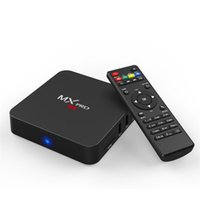 Wholesale Mx Android Tv Boxes - MX MXQ Pro Android TV Box S905X S905 1G 8G H.265 Smart Mini PC VS MXQ Pro,MXQ 4K,T95N