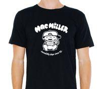 Wholesale Black Gildan Shirt - T Shirts Cotton Gildan Mac Miller, Incredibly Dope Knock Hip Hop Hoodie Rap Crew Neck Casual Short Tee Shirts For Men
