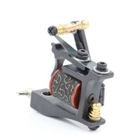 Wholesale Copper Dial - machine YUELONG Hot Sale Iron Guns T-Dial Machine 10 Wrap Coils Tatoo Machines Liner For Tattoo Supplies Free Shipping