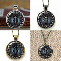 Wholesale goddess blue - 10pcs Triple Moon Goddess with Blue Glow Pendant Necklace keyring bookmark cufflink earring bracelet