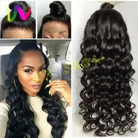 Wholesale Cheapest Synthetic Full Lace Wigs - Full Density Synthetic Lace Front Wigs With Baby Hair Cheap Afro American Wigs Synthetic Wigs For Black Women Female Hairstyle