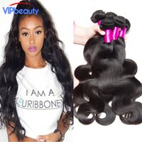 Wholesale Modern Hair Show - Modern show Peruvian body wave virgin hair extension Unprocessed Peruvian human hair weft 10-28inch 4 bundle deals