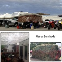 Wholesale 2x3m Camouflage Net - 2X2M   2X3M   2X4M Hunting Jungle Cover Woodland Military Camouflage Net Hunting Camping Tent Car Shade Cloths Cover