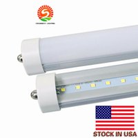 Wholesale Smd Led Lumens - LED tube FA8 UL T8 8ft LED Tube Lights Single Pin FA8 Led Lights 45W 4800 lumens Fluorescent light AC 110-277V