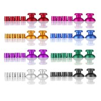 Wholesale Ps4 Bullet - NEW Colorful Alloy Universal Metal Bullet Buttons And Thumbsticks Cap Set For PlayStation 4 For PS4 Controller Accessories
