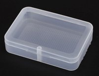 Wholesale High Less - 50pcs High Quality Transparent Playing CARDS Plastic Box PP Storage Boxes Packing Case (CARDS width less than 6cm) SL3047