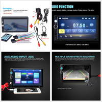 7 '' Car DVD Fonction Bluetooth Stereo HD Touch Screen MP5 Player MP3 / MP4 Handsfree Call